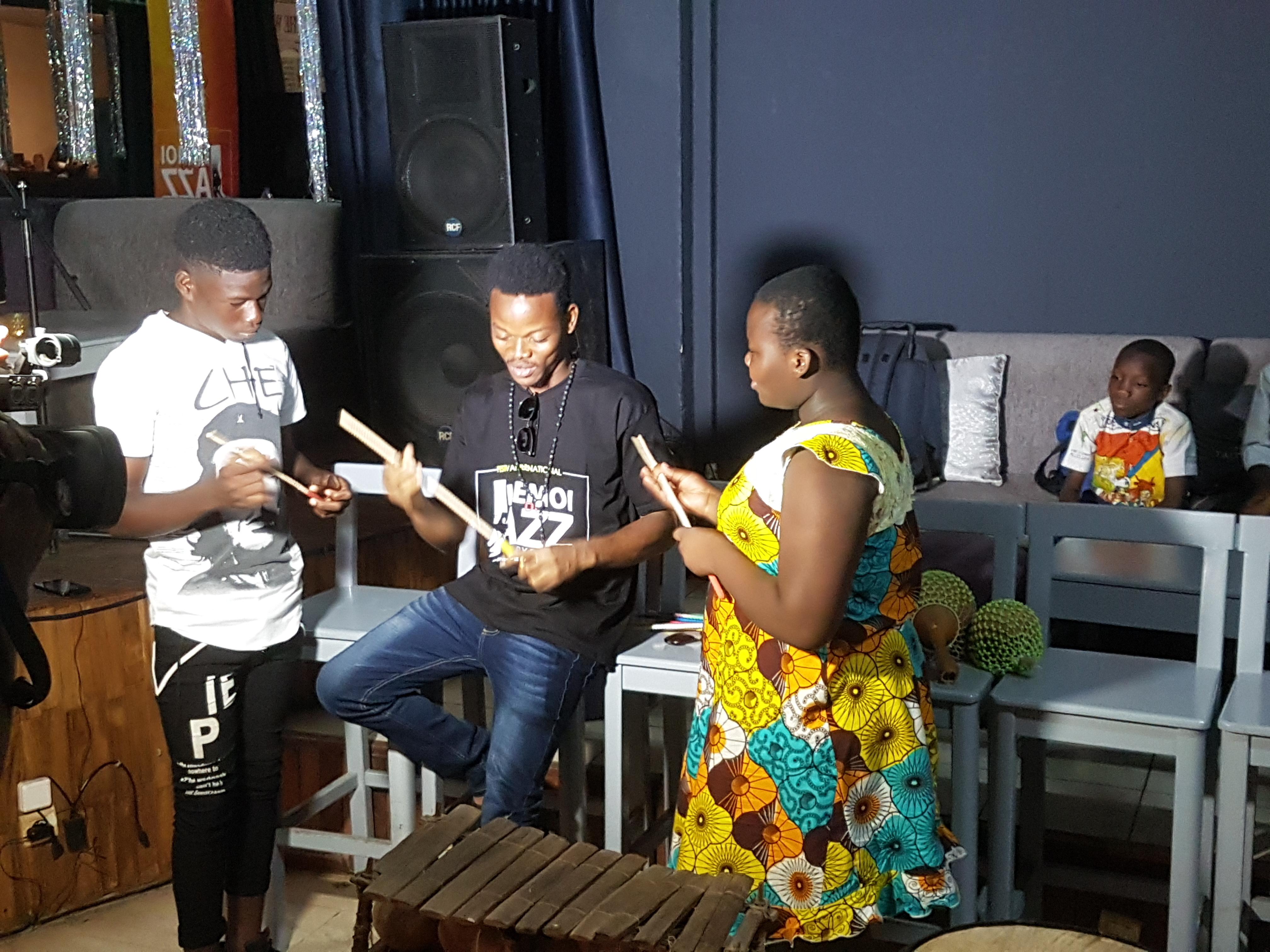 Atelier musique et créativité au Music'all