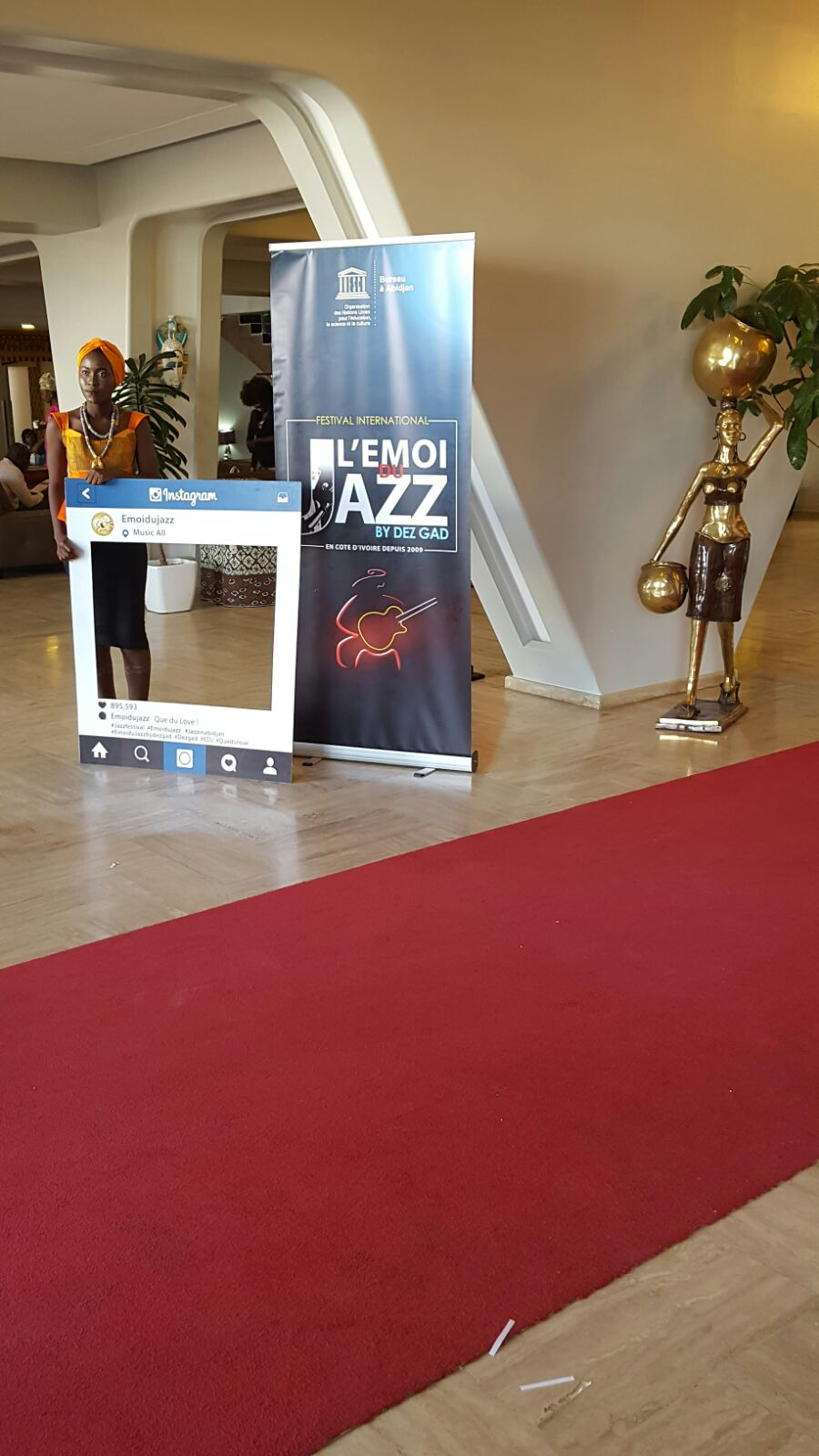 On était à la cérémonie d'ouverture du Festival Emoi du Jazz by Dez Gad 2017