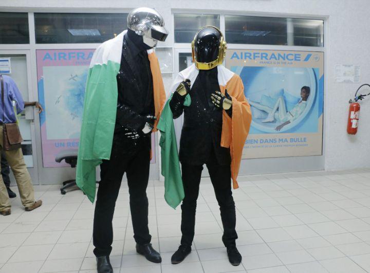 Daft Punk à Abidjan