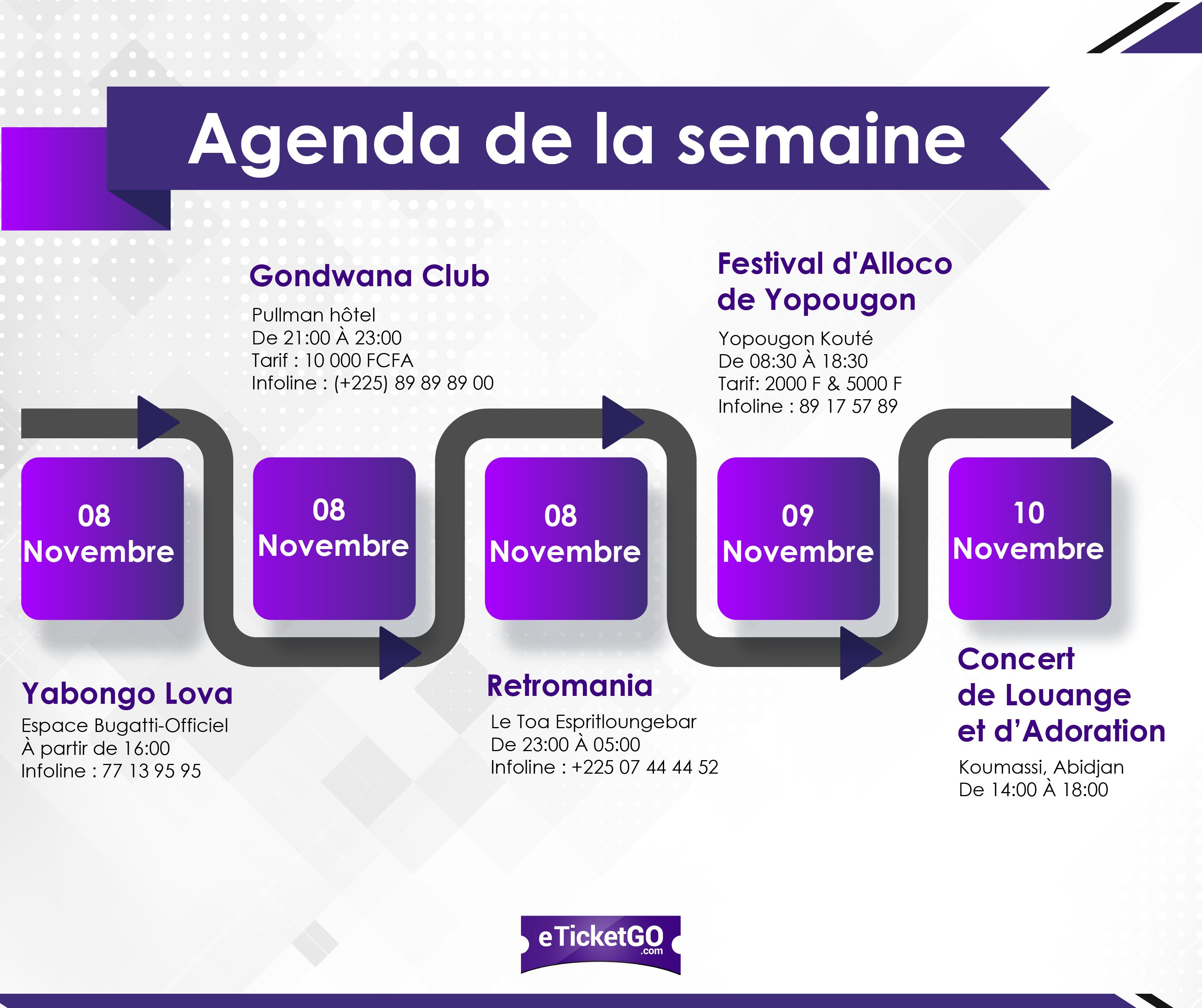 L'Agenda EticketGo