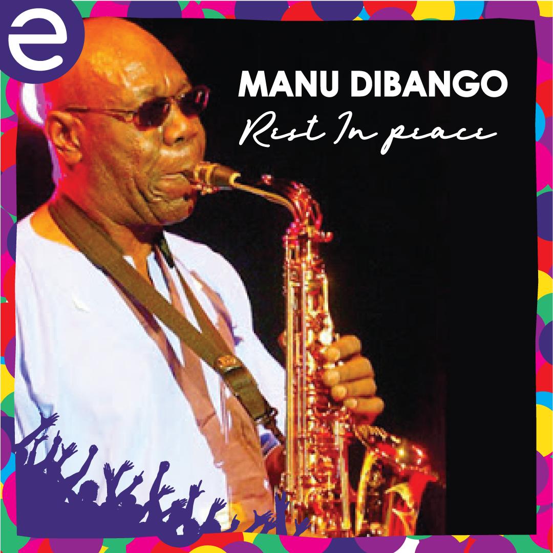 MANU DIBANGO : Instrumentiste au talent unique et au triomphe mondiale.